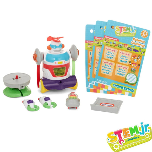 Little Tikes Builder Bot Toy, Multicolor 647550