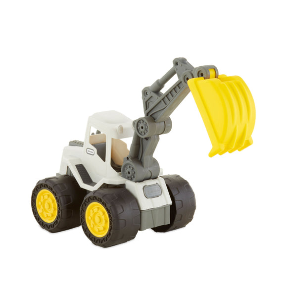 Little Tikes Dirt Diggers 2-in-1 Haulers Excavator Yellow 650567
