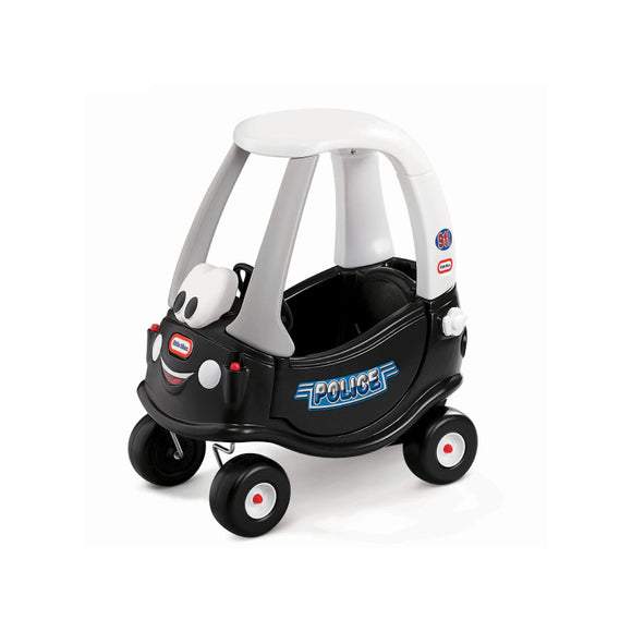 Little Tikes Patrol Cozy Coupe Police Black 615795