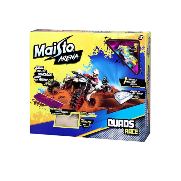Maisto Sand Toys Play Set Arena Quad Race Multicolor 11502