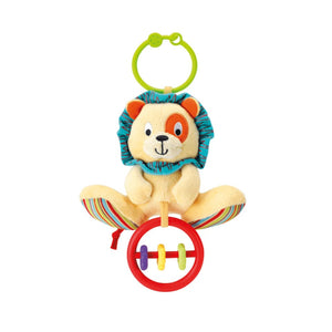 Winfun Caesar the Lion Rattle with Rings 0118-NL