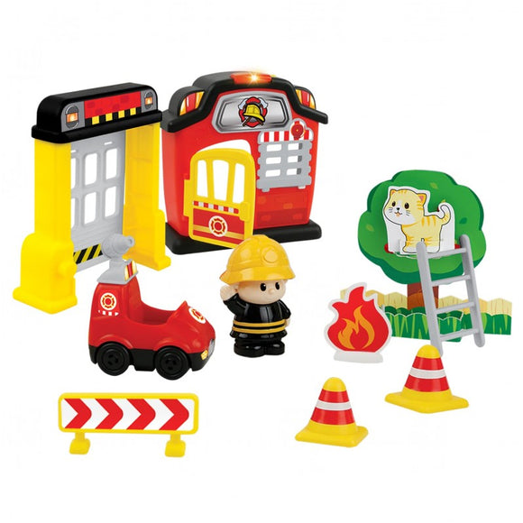 Winfun Fire Station Fun Playset 1307