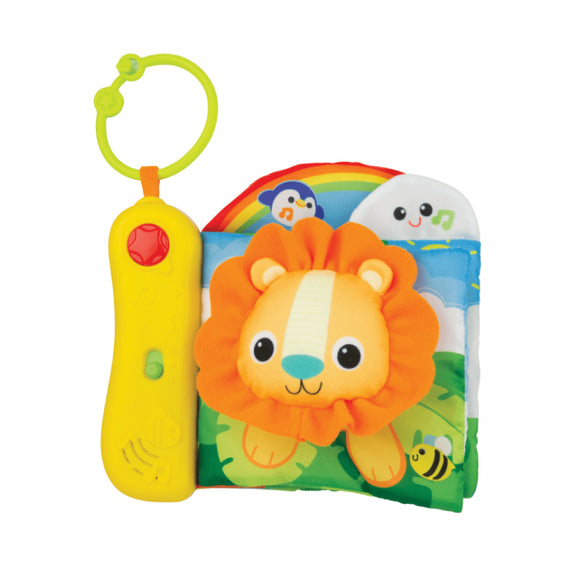 Winfun Jungle Pals Sensory Book 0200-01