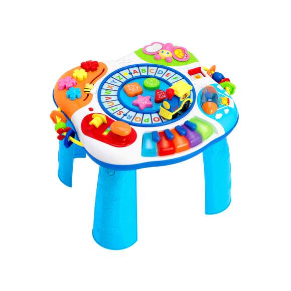 Winfun Letter Train & Piano Activity Table 0801