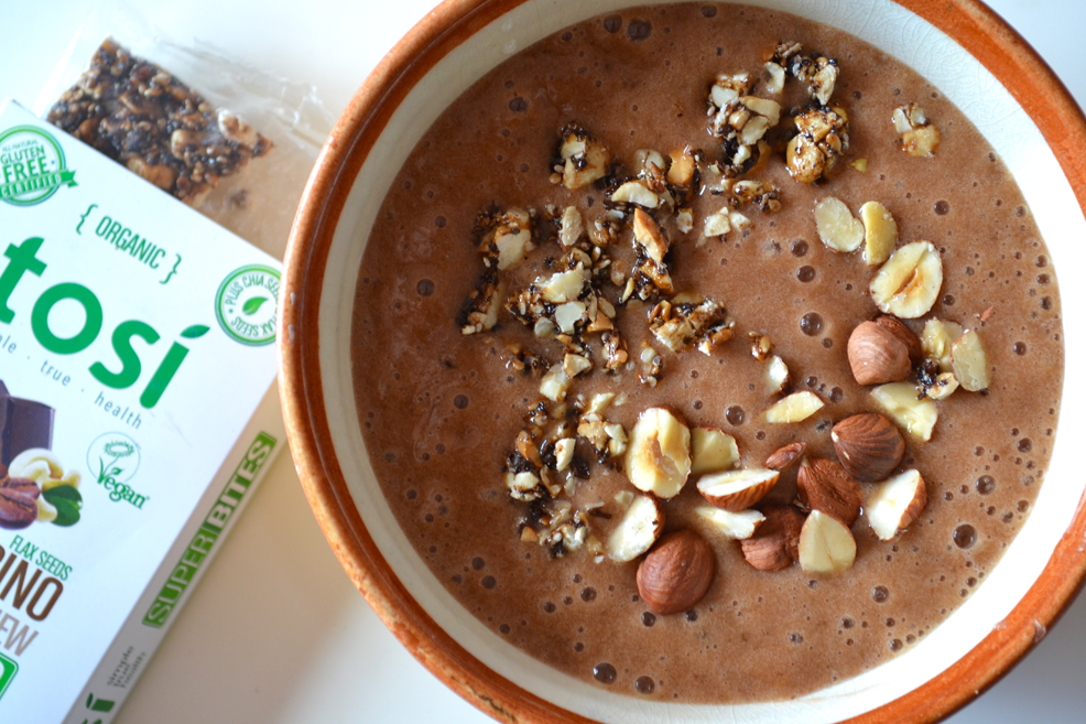 Hearty Nutella Smoothie Bowl