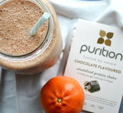 Chocolate Orange Protein Smoothie