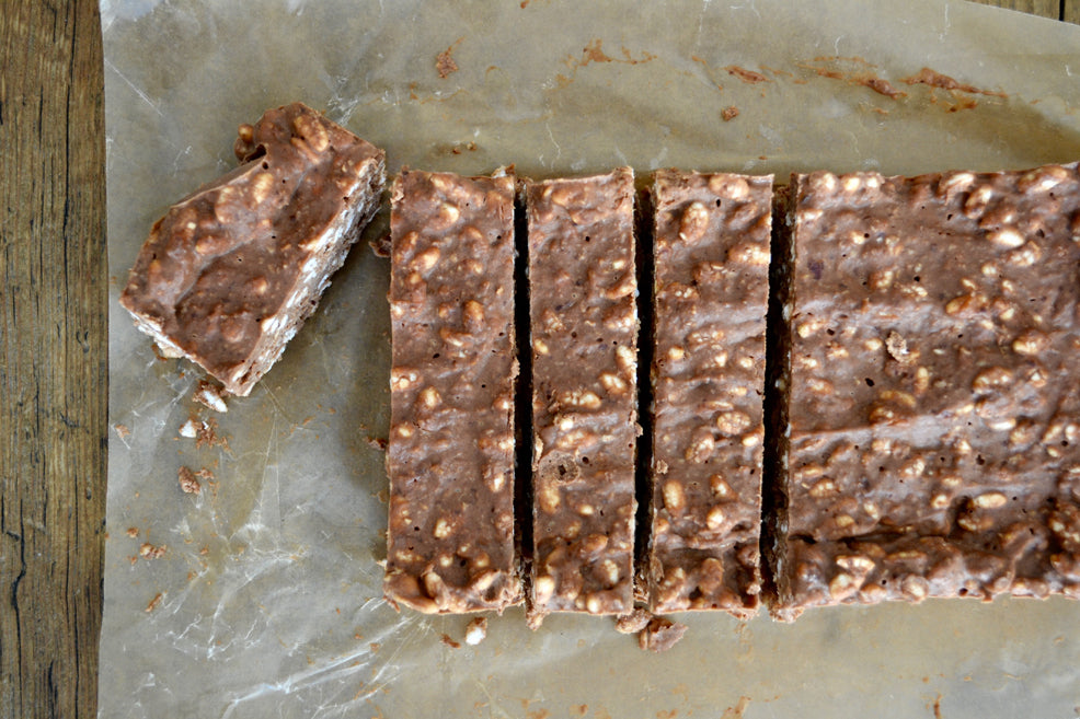 Crunchy Chocolate Slice