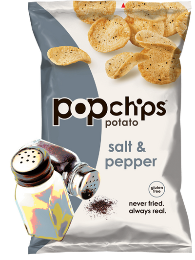 Sea Salt & Pepper Potato Chips