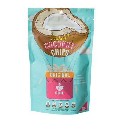Baked Coconut Chips (X2)