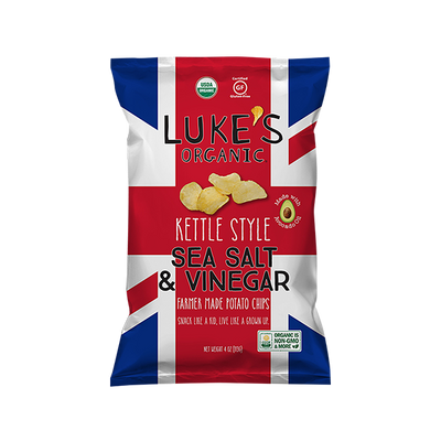 Sea Salt & Vinegar Organic Kettle Style Potato Chips