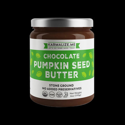 Organic Chocolate Pumpkin Seed Butter