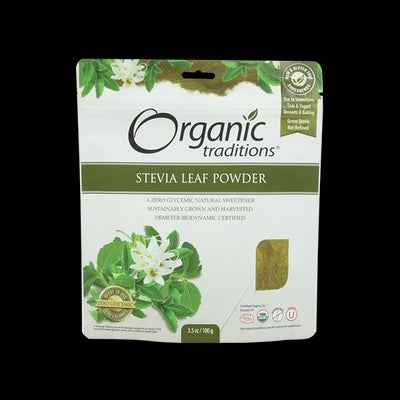 Organic Green Leaf Stevia Powder