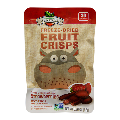 Strawberry Freeze Dried Fruit Crisps