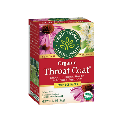 Throat Coat Lemon Echinacea Tea