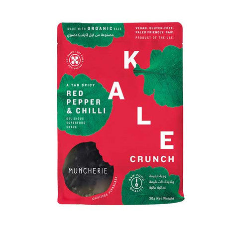 Red Pepper & Chilli Kale Crunch