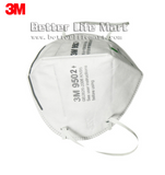 3M 9502+ KN95 Particulate Respirator Face Mask Virus Protection, Headband, No Valve, 50pcs / bag, fast free shipping - Better Life Mart