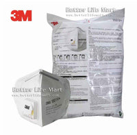3M 9501V+ KN95 Particulate Respirator Face Mask, Earloop, with Valve, On FDA EUA list for Covid 19 protection, 25pcs / bag, fast free shipping - Better Life Mart