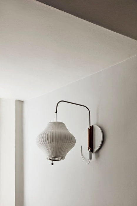Nelson Pear Wall Sconce Cabled