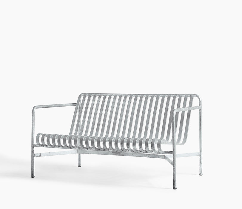 Palissade Lounge Sofa Low Hot Galvanised