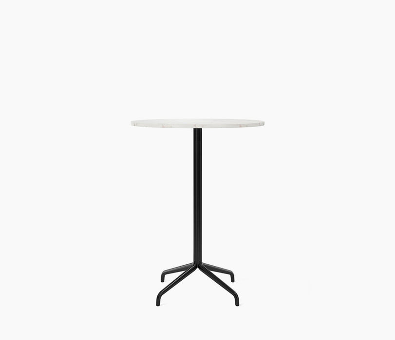 Harbour Column Bar Table, Round With Star Base