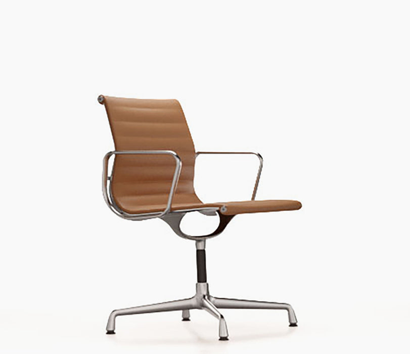 Aluminium Chair EA 103 Leather / Polished