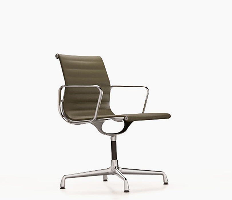 Aluminium Chair EA 104 Premium Leather / Chromed