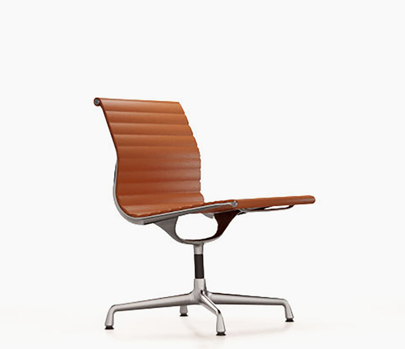Aluminium Chair EA 105 Leather / Polished