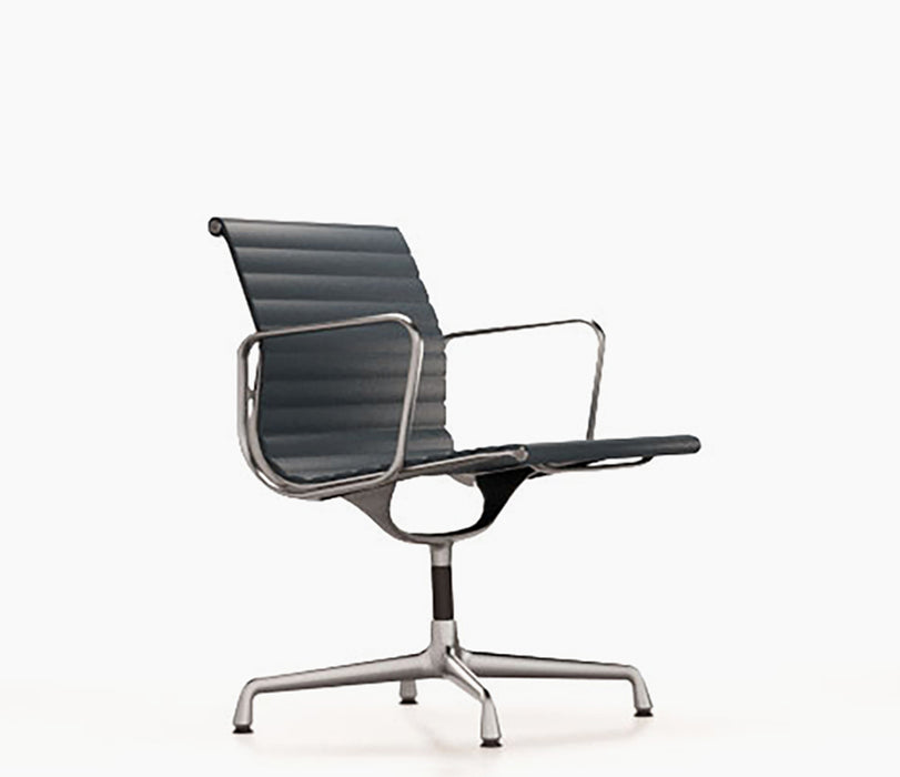 Aluminium Chair EA 108 Premium Leather / Polished