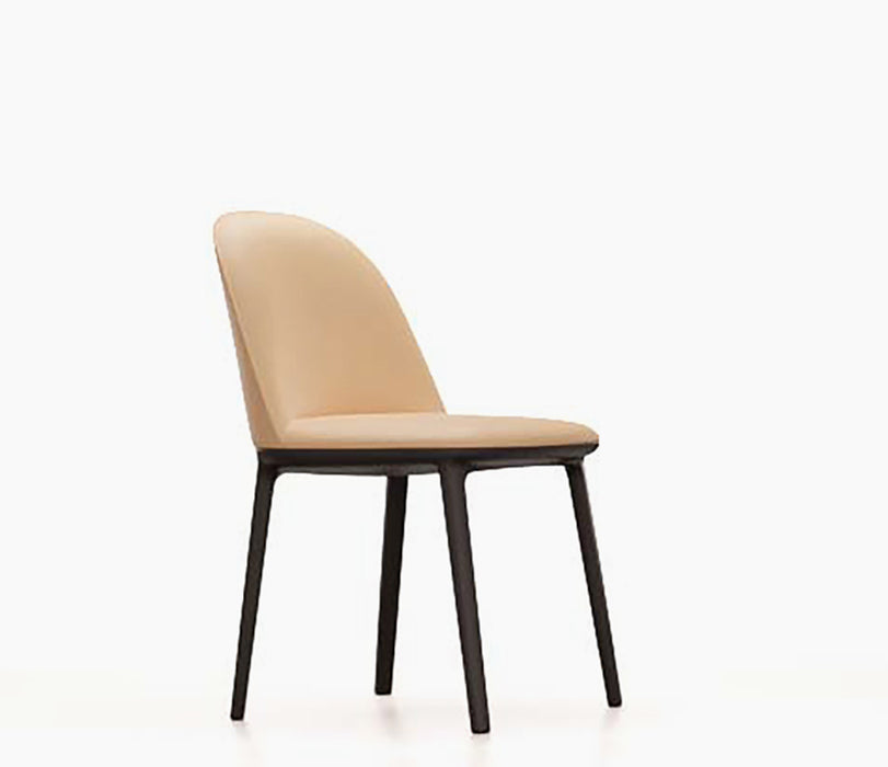 Softshell Side Chair Leather Premium