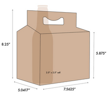 Load image into Gallery viewer, C-Store Packaging | 6-Pack Mix 6ix Santa Cardboard Carrier