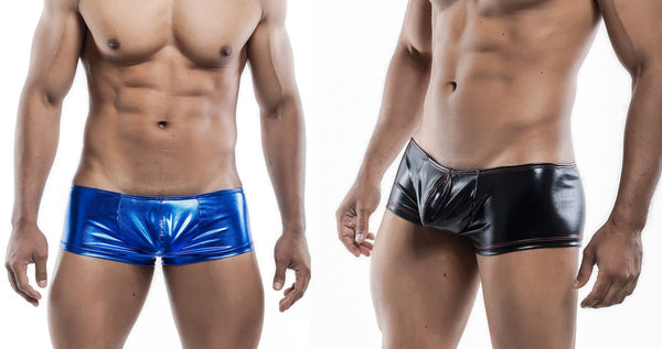 Fantastic Metallic Flares from the Male Basics Metallic Shorts Underwear