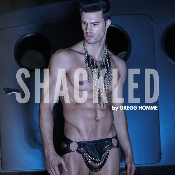 Chained & Shackled in a Sexy Mens Underwear Collection by Gregg Homme