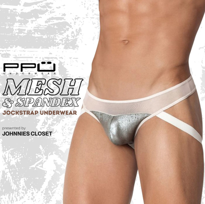 PPU Underwear 2003 Jockstrap Brings in Sheer and Shimmer