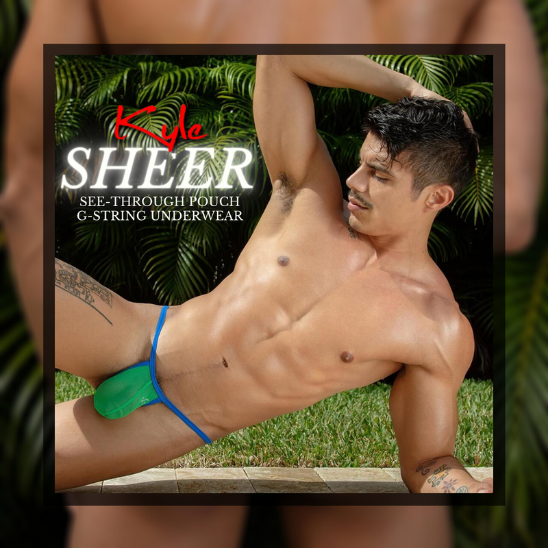 Mini Pouch, Huge Definition – It's What You Get from this Kyle Underwear G-sting!