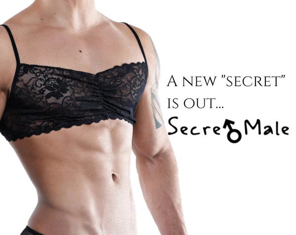 Guys Can Go Gaga on these Replenished Stocks for Secret Male Bra Tops!