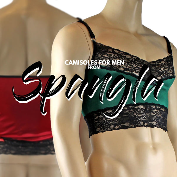 Best Selling Camisole Tops Made for the Man from Spangla Designs!
