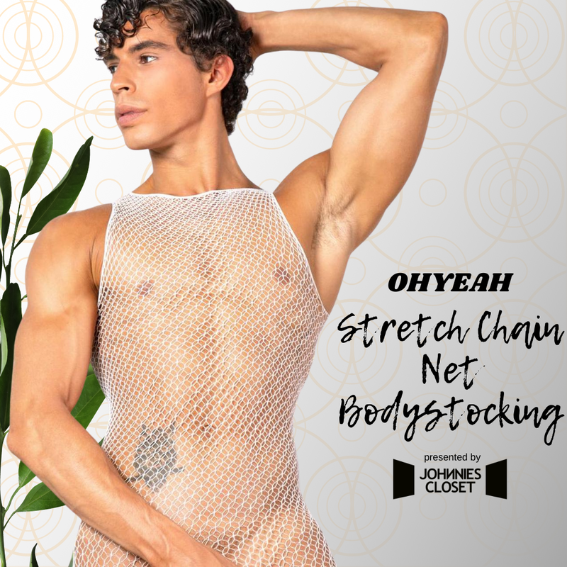 Fit Into This: OHYEAH Stretch Chain Net Bodystocking for Men