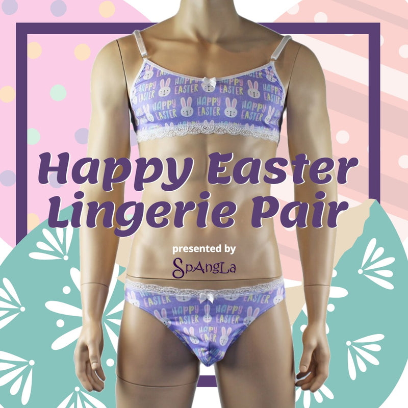 An Intimate Easter Hatches with Spangla's Easter Lingerie Ensemble