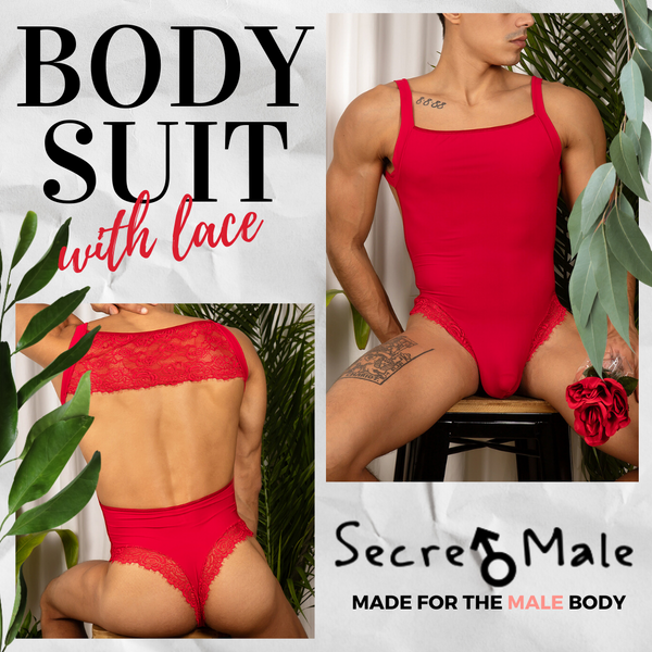 Secret Male Bodysuits Make Intimate Moments Suit You Well