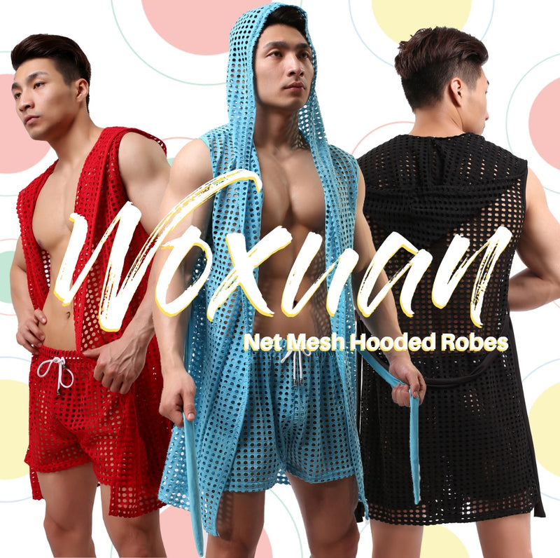 Hooded Coloured Robes: A Peep Through Luxury from Woxuan