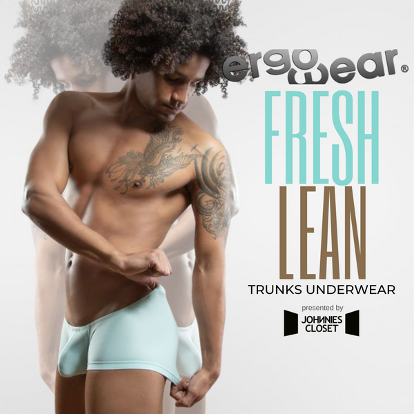 Try-on a Pair of Fresh & Lean Trunk Mens Underwear from ErgoWear