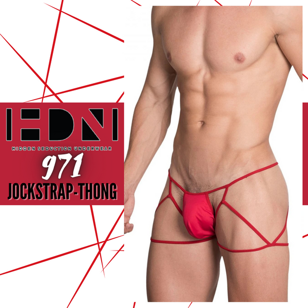 A Hidden Seduction Jockstrap Thong You'd Love to Show Off!