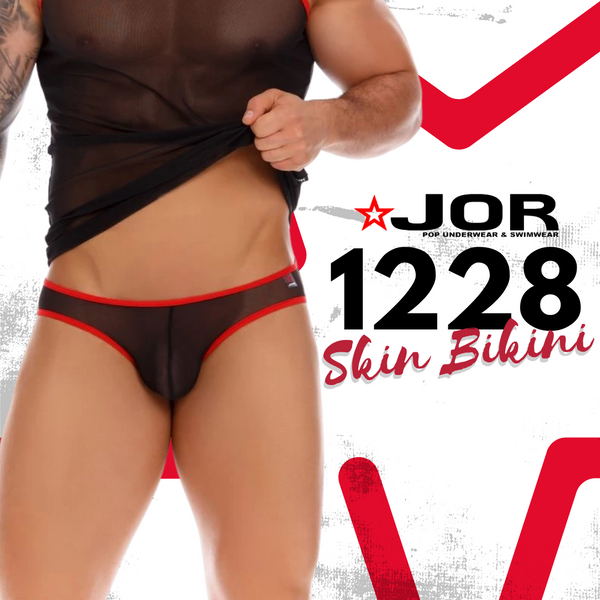 Like Wearing Another Skin: Experience the JOR Skin Bikini Underwear!
