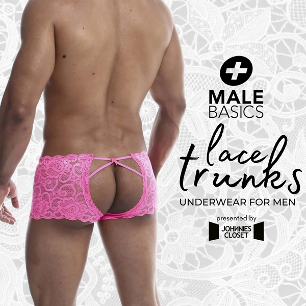 A Touch of Feminine Romance for Mens Underwear by Male Basics