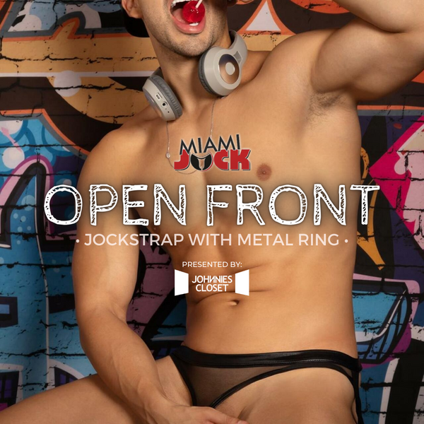 Effortless Reveal Brought to You by a Miami Jock Jockstrap!