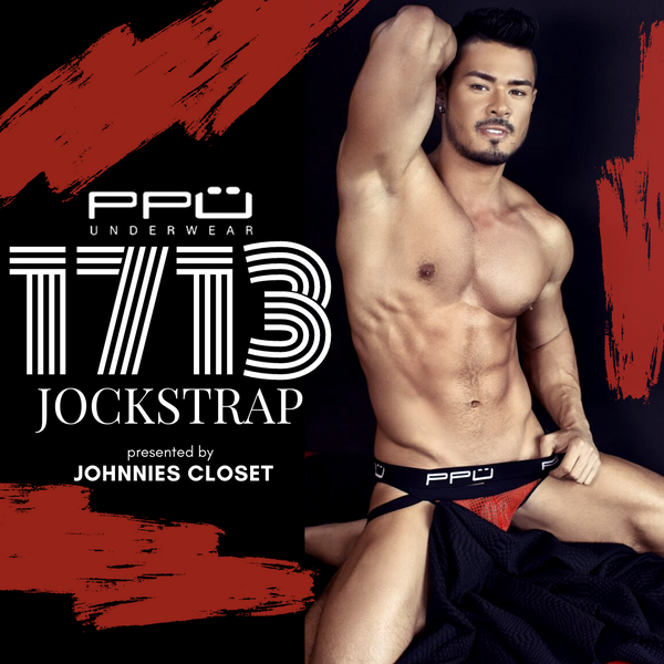 PPU Underwear Turns Up the Sexy Factor with the 1713 Jockstrap!