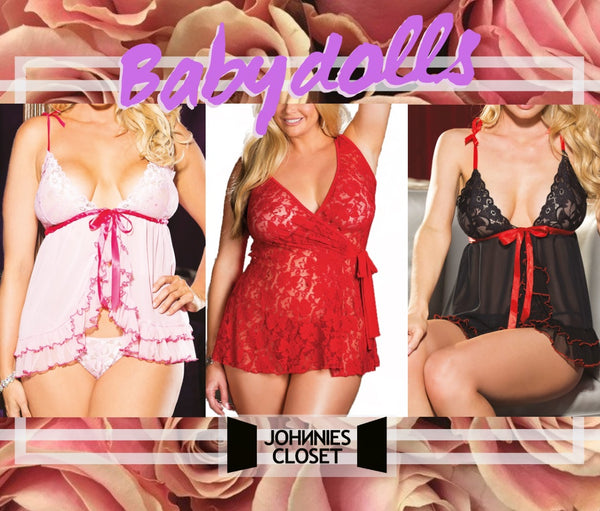Sweet and Flirty Babydoll Dresses presented by Johnnies Closet