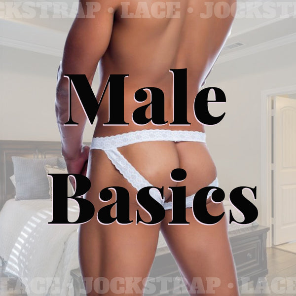 "Male Basics Brings the ""Wow Factor"" with their version of the Jockstrap in Lace Fabric!"