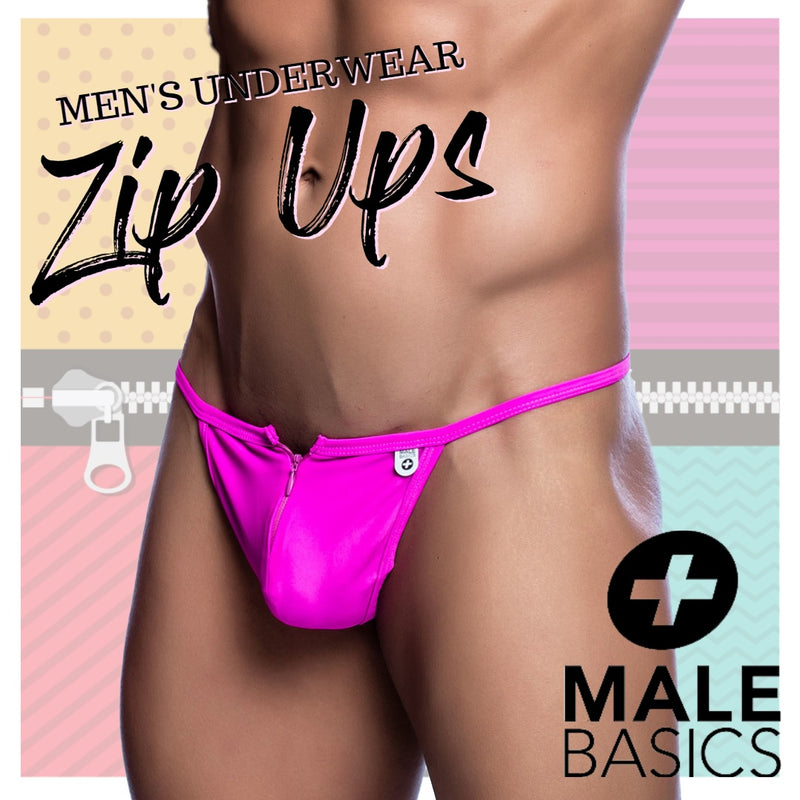 Zip Up and Slip Into These Colourful G-strings from Male Basics