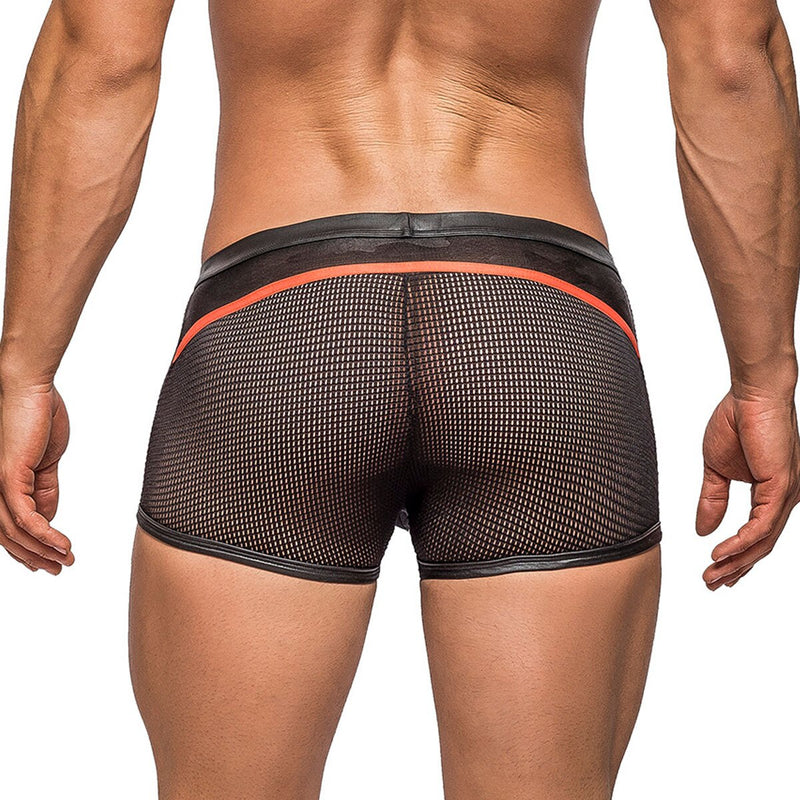 Male Power Camo Sports Net Short